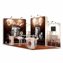3x7-2E Coffee Machines Exhibition stand